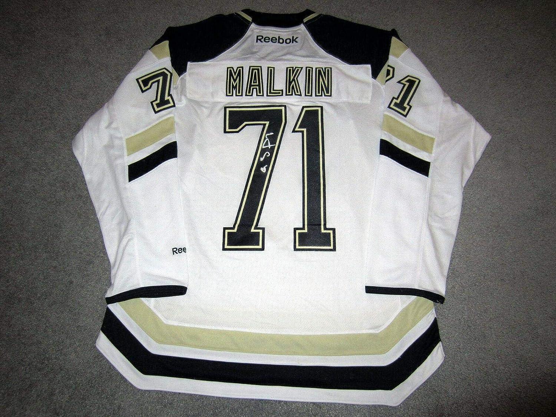 Signed Evgeni Malkin Jersey  Stadium w BAS COA  Beckett Authentication  Autographed NHL Jerseys