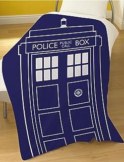 Dreamtex Doctor Who Tardis Manta de Forro Polar – Manta pa