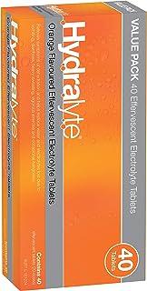 Hydralyte Effervescent Electrolyte, 40 Tablets, Orange