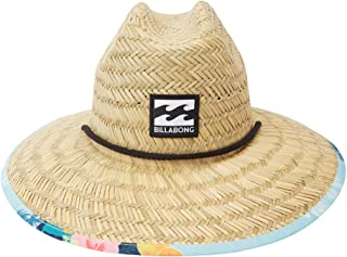 Men's Classic Printed Straw Lifeguard Hat