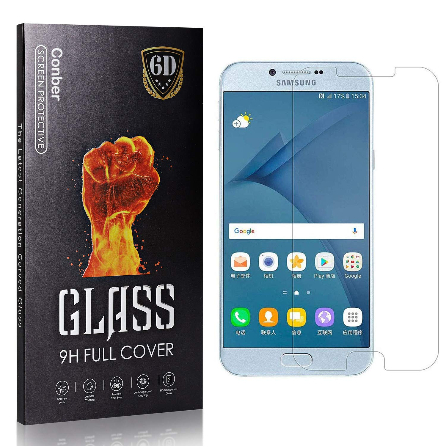 Conber 4 Pack Screen Detroit Mall Protector for Al sold out. Samsung A8 Galaxy Tem 2016