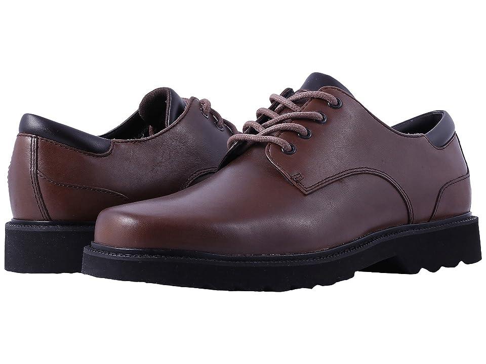 Rockport Main Route Northfield Waterproof (Dark Brown Leather) Men