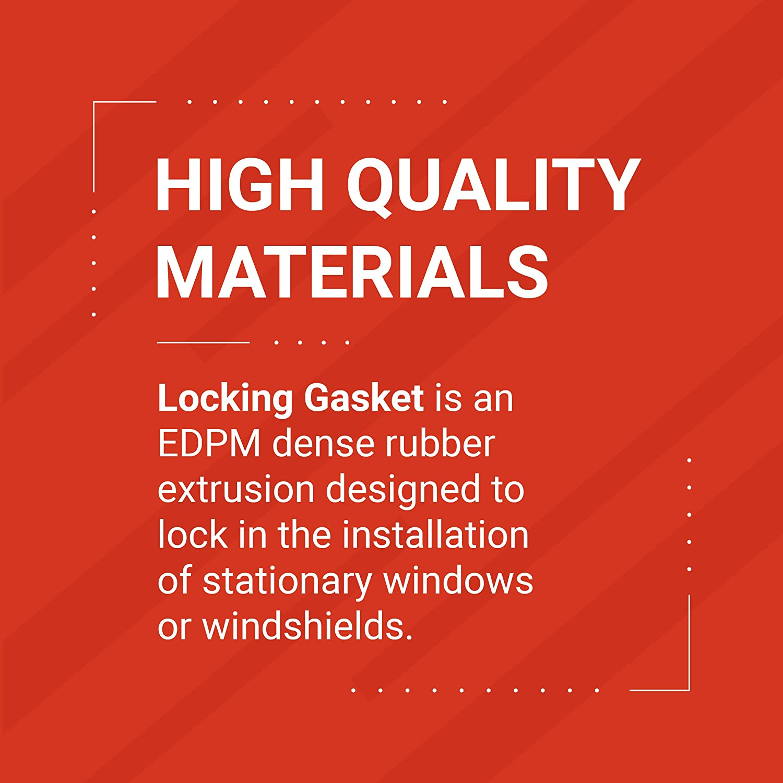 LK1179-25 Trim-Lok EPDM Dense Rubber Window Locking Gasket TRIM-LOK Fits ...