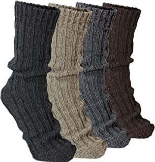 4 Pairs Thick Cashmere Socks - Mixed Colors