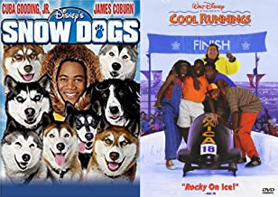 Winter Ice Fun Family DVD Set Disney Snow Dogs & Cool Runnings Double Feature Movie Favorites