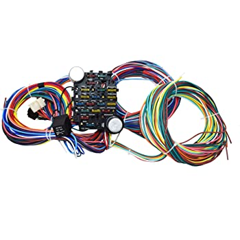 [WLLP_2054]   Amazon.com: A-Team Performance 21 Standard Circuit Universal Wiring Harness  Kit Muscle Car Hot Rod XL Wire: Automotive | Late Model Universal Wiring Harness Kits For Vehicles |  | Amazon.com