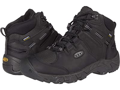 KEEN Steens Mid Polar (Black/Raven) Men