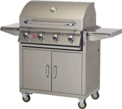 Bull Outdoor Products 26001 Liquid Propane Outlaw Grill on Cart