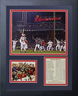 Legends Never Die 2013 Red Sox World Series Champions Run Framed Photo Collage, 11x14-Inch