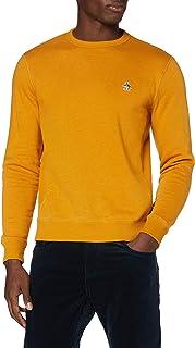 Original Penguin Men's Sticker Pete Fleece Crew Sweater