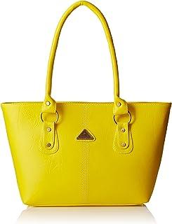 Women's Shoulder Bag (FNB-192_Yellow)