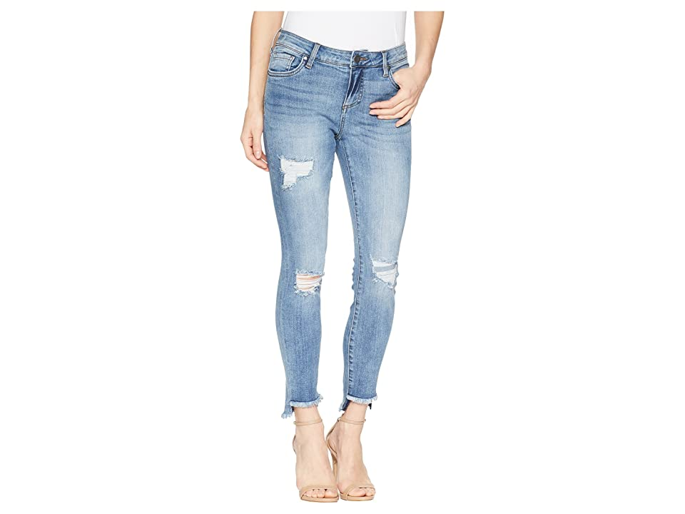 KUT from the Kloth Connie Ankle Skinny w/ Step Fray Hem in Loveliness (Loveliness) Women