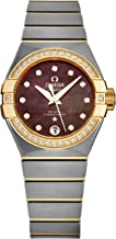Omega Constellation Automatic Mother of Pearl Dial Ladies Watch 123.25.27.20.57.007