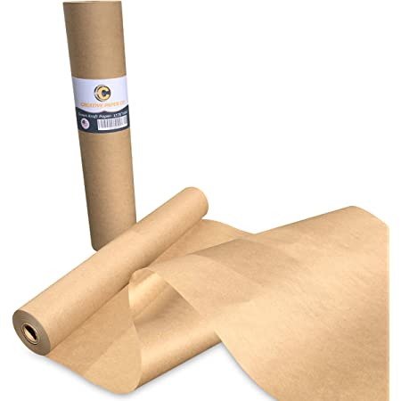 25 x QUALITY THICK BROWN KRAFT WRAPPING PAPER SHEETS 750x1150mm *100/% RECYCLABLE