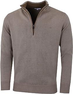 Calvin Klein Newport T-shirt de golf avec demi-fermeture éclair pour homme