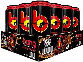 VPX Bang Citrus Twist 12 Cans, 16Fl. Oz (12 Count)