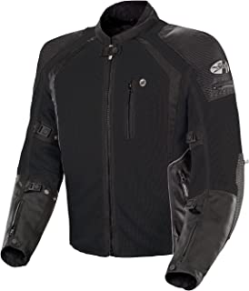 Joe Rocket Phoenix Ion Men's Mesh Motorcycle Jacket (Black, Large) (1516-4004)
