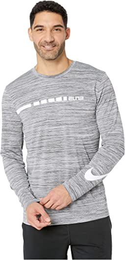 Long Sleeve Elite Blocked Dry Tee