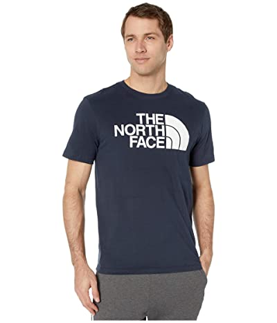 The North Face Short Sleeve Half Dome T-Shirt (Urban Navy) Men