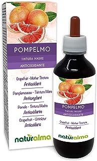 POMELO (Citrus paradisi) semillas Tintura Madre sin alcohol NATURALMA | Enriquecido con vitamina C | Extracto líquido gotas 200 ml | Complemento alimenticio | Vegano