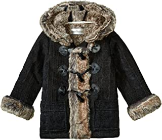 Baby Hooded Toggle Sweater Coat