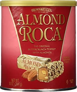 Brown and Haley Almond Roca 10 OZ Can (2 Pack)