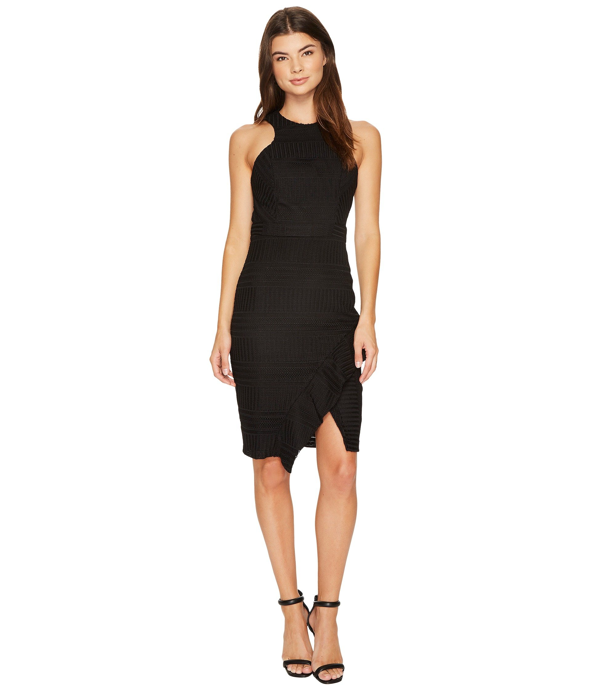 Adelyn Rae Bianca Sheath Dress, BLACK