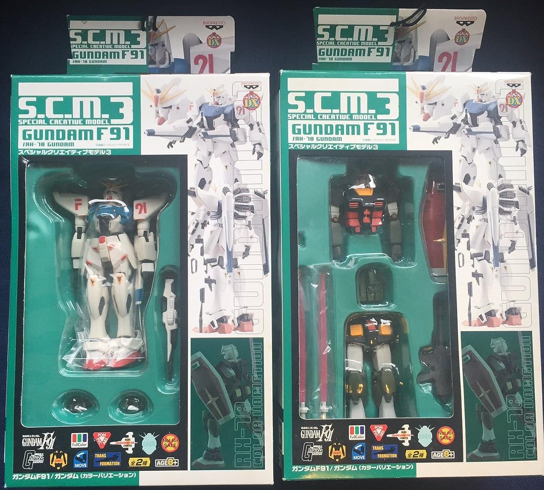 exclusivo Mobile Suit Gundam SCM Special Special Special Creative Model 3 whole set of 2  mejor moda