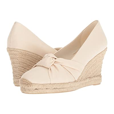 Soludos Knotted Pump Wedge (Blush) Women
