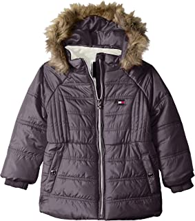 Girls' Quilted Puffer Jacket