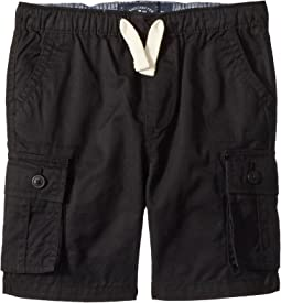 Lucky Brand Kids Pull-On Cargo Woven Shorts (Toddler)
