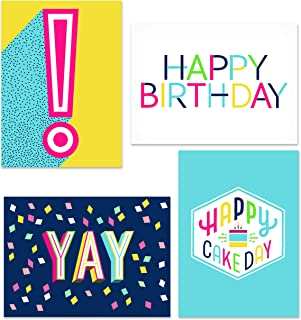 Hallmark Birthday Cards Assortment, Happy Cake Day (48 Cards with Envelopes)