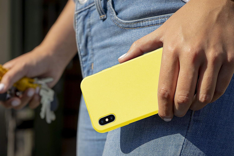 MyGadget Silikon H/ülle f/ür Apple iPhone XS Max robuste Schutzh/ülle TPU Case Slim Silikonh/ülle Back Cover Ultra Kratzfest Handyh/ülle matt Braun