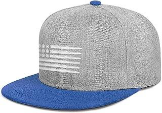 JKHDFAS Unisex Mens Women Cap Bullet American Flag Cotton Designed Workout Caps Hat