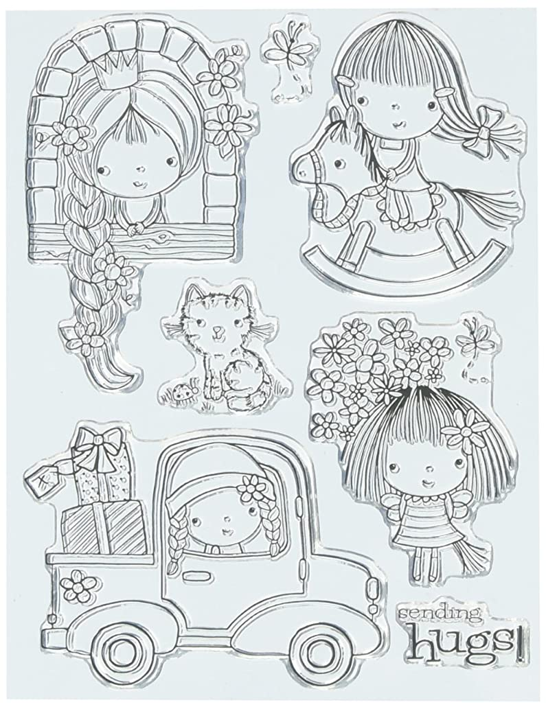 Penny Black 30-111 Mimi at Play Clear Stamp