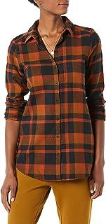 Amazon Brand - Goodthreads Women's Brushed Flannel Boyfriend Tunic