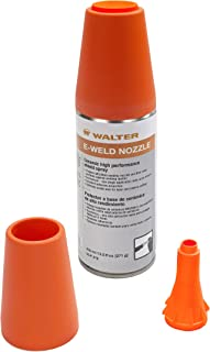 Walter Surface Technologies E-Weld Nozzle Kit- Anti Spatter Starter Kit, 5 Aerosol Cans, 1 Easy Applicator. Nozzle Protection Kit