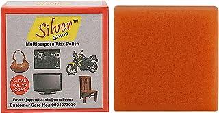 Silver Shine Multipurpose Wax Polish Sponge for Bikes and Cars -Combo of 12