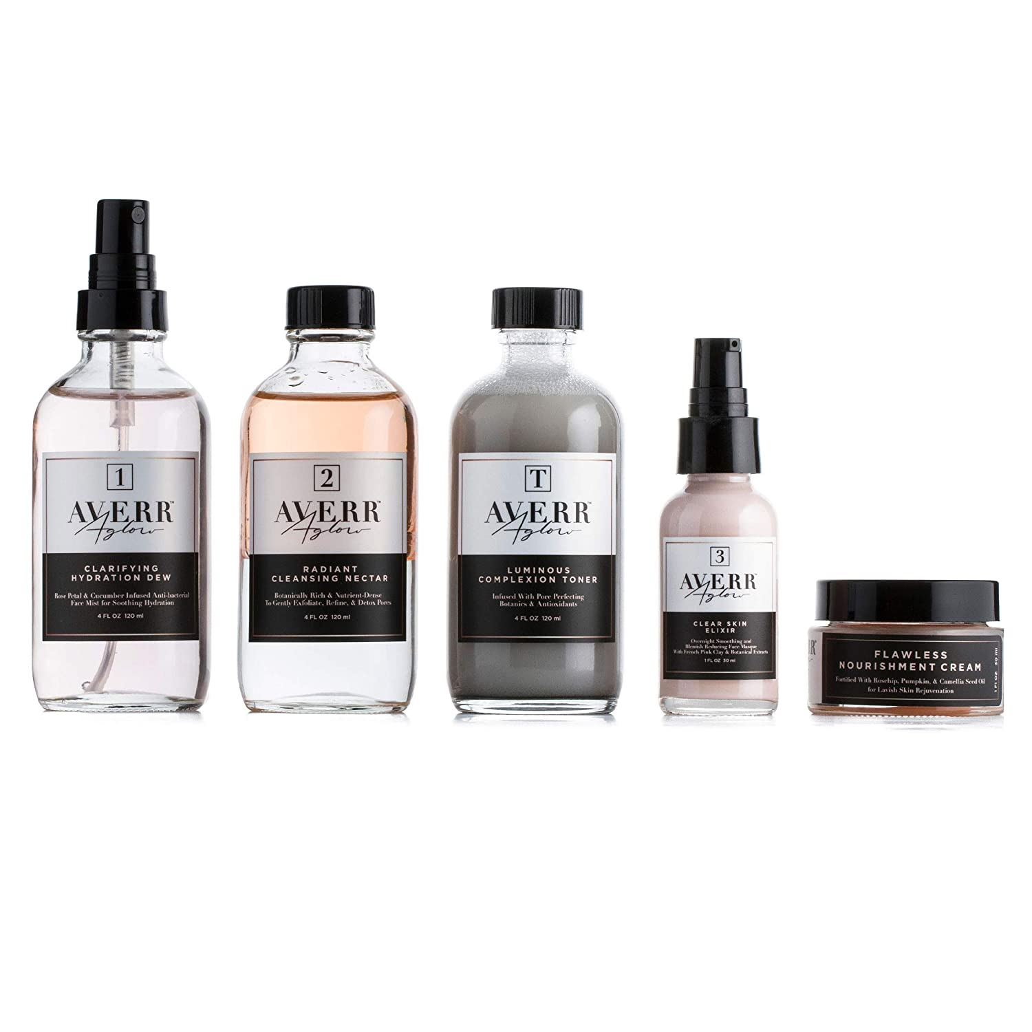 Averr New color Aglow Ranking TOP15 Luminous Clear Skin Face Kit Re Cleanser Hydration