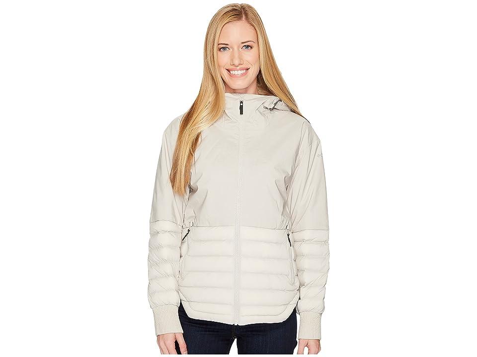 Columbia Open Site Hybrid Hooded Jacket (Light Cloud) Women