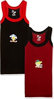 Rupa Frontline Kids Boys' Cotton Vest (Pack of 2)