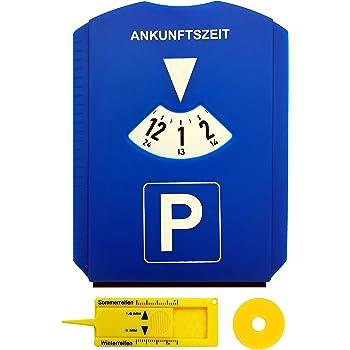 Europa Parkscheibe Parkuhr mit Benzinrechner neutral