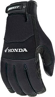 Joe Rocket Crew Touch Men's Motorcycle Riding Gloves (Black/Black, Large)