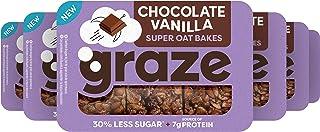 Graze Chocolate Vanilla Protein Oat Bites Havermoutrepen - 6 x 3 repen (53 g)