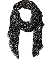 Kate Spade New York - Pop Scallop Oblong Scarf