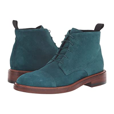 Paul Smith Jarmin Suede Boot (Turquoise) Women