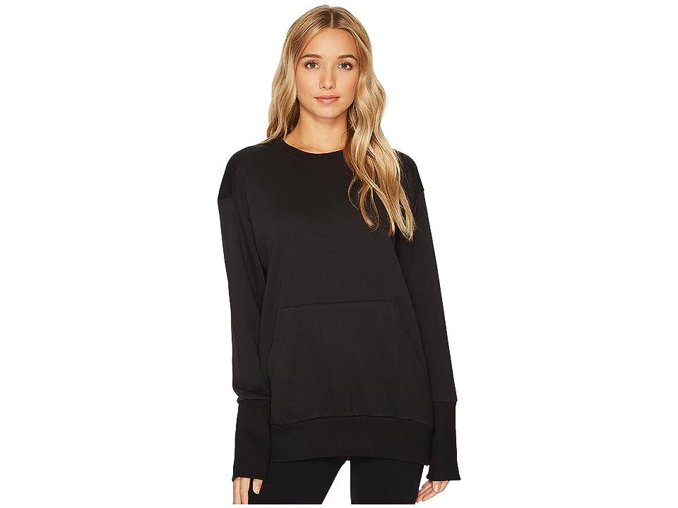 Reebok Oversized Long Sleeve Tunic (Black) Women