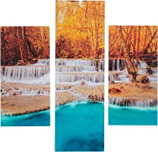 Three art Decorative MDF Painting, 3 Pieces - 64x60 cm