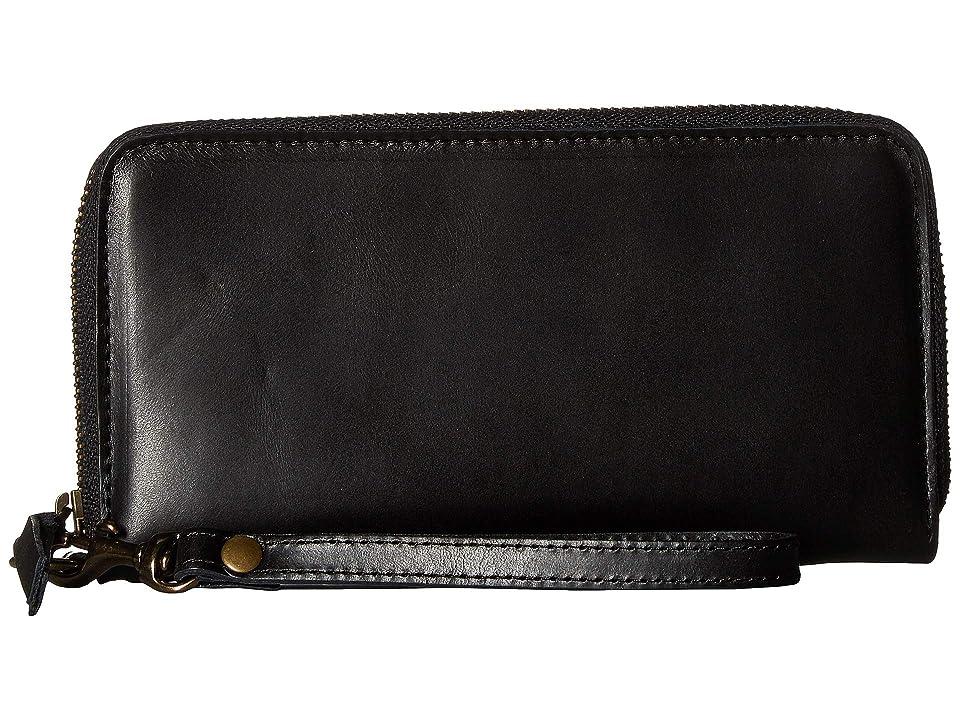 Image of ABLE Alem Continental Wallet (Black) Wallet Handbags