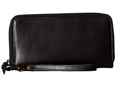 ABLE Alem Continental Wallet (Black) Wallet Handbags